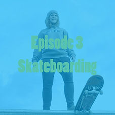 In today's episode, Mary Ellen learns to skateboard.