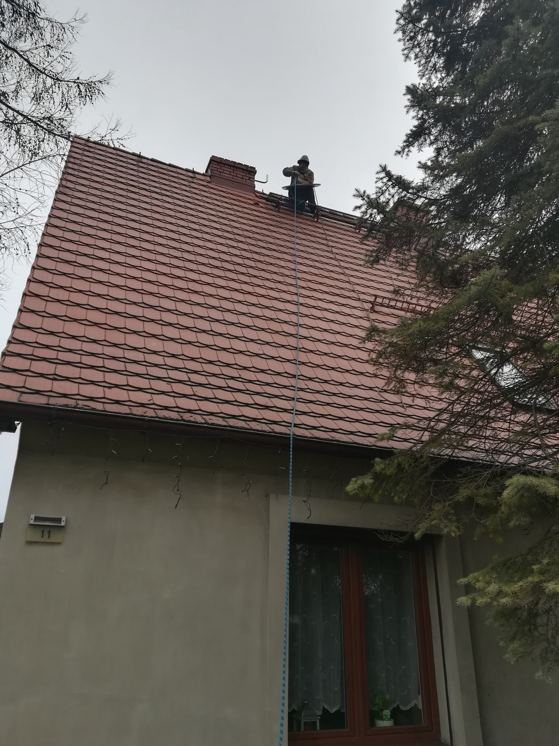 Montaz anteny w Gliwicach