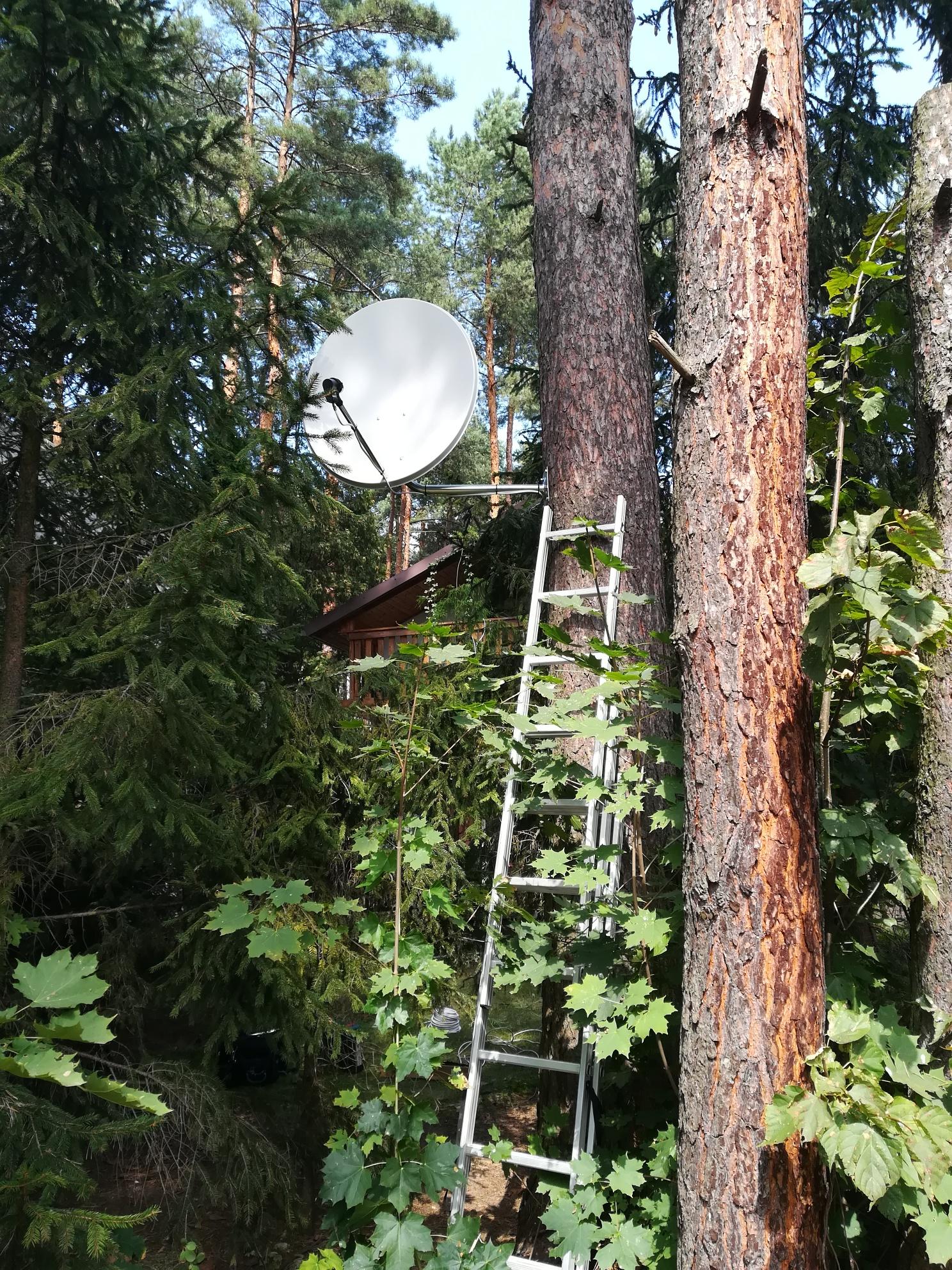 Antena satelitarna Przeczyce