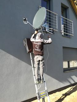 Dwie anteny Bieruń
