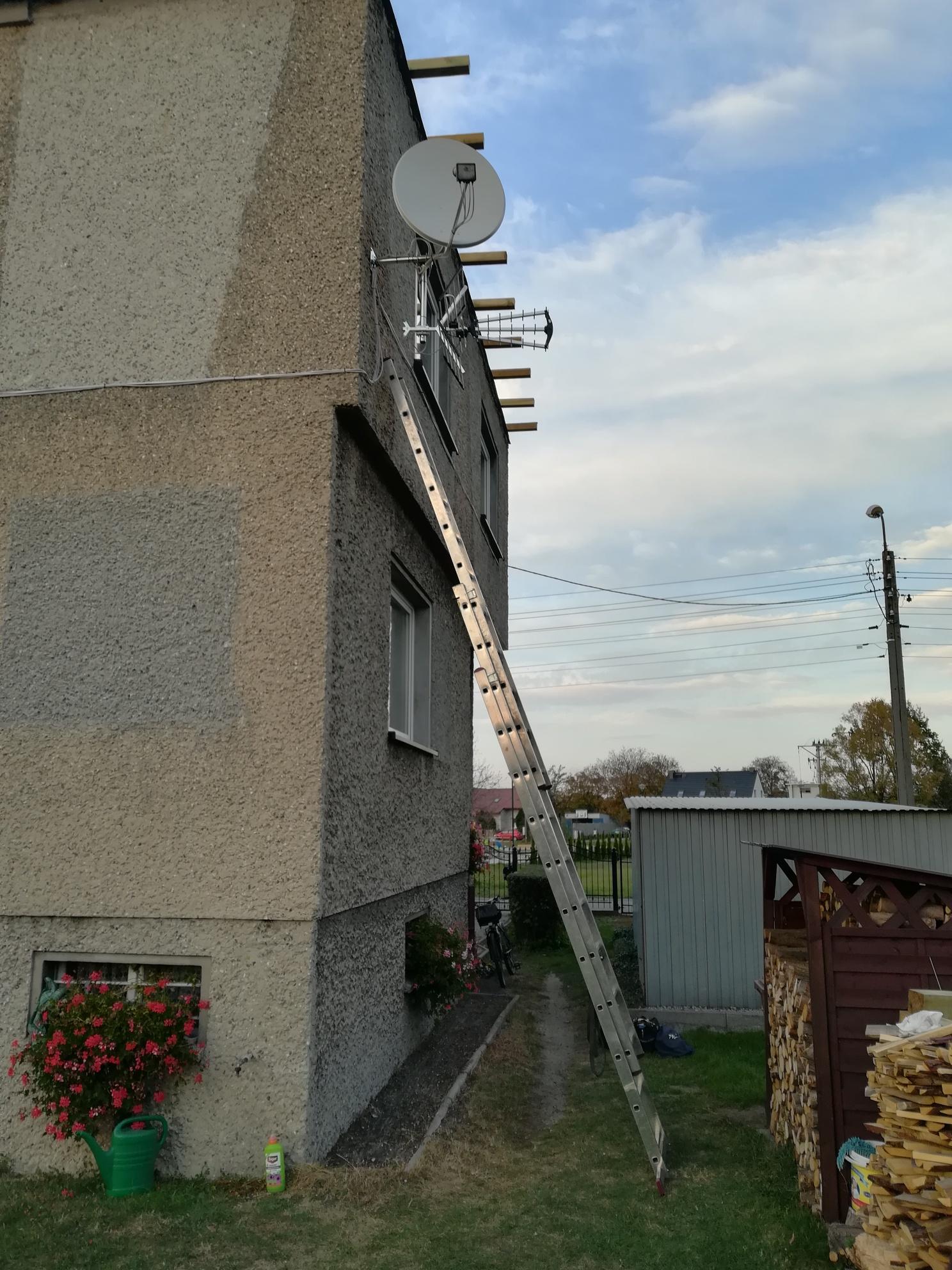 Instalacja 2 antenowa Gliwice