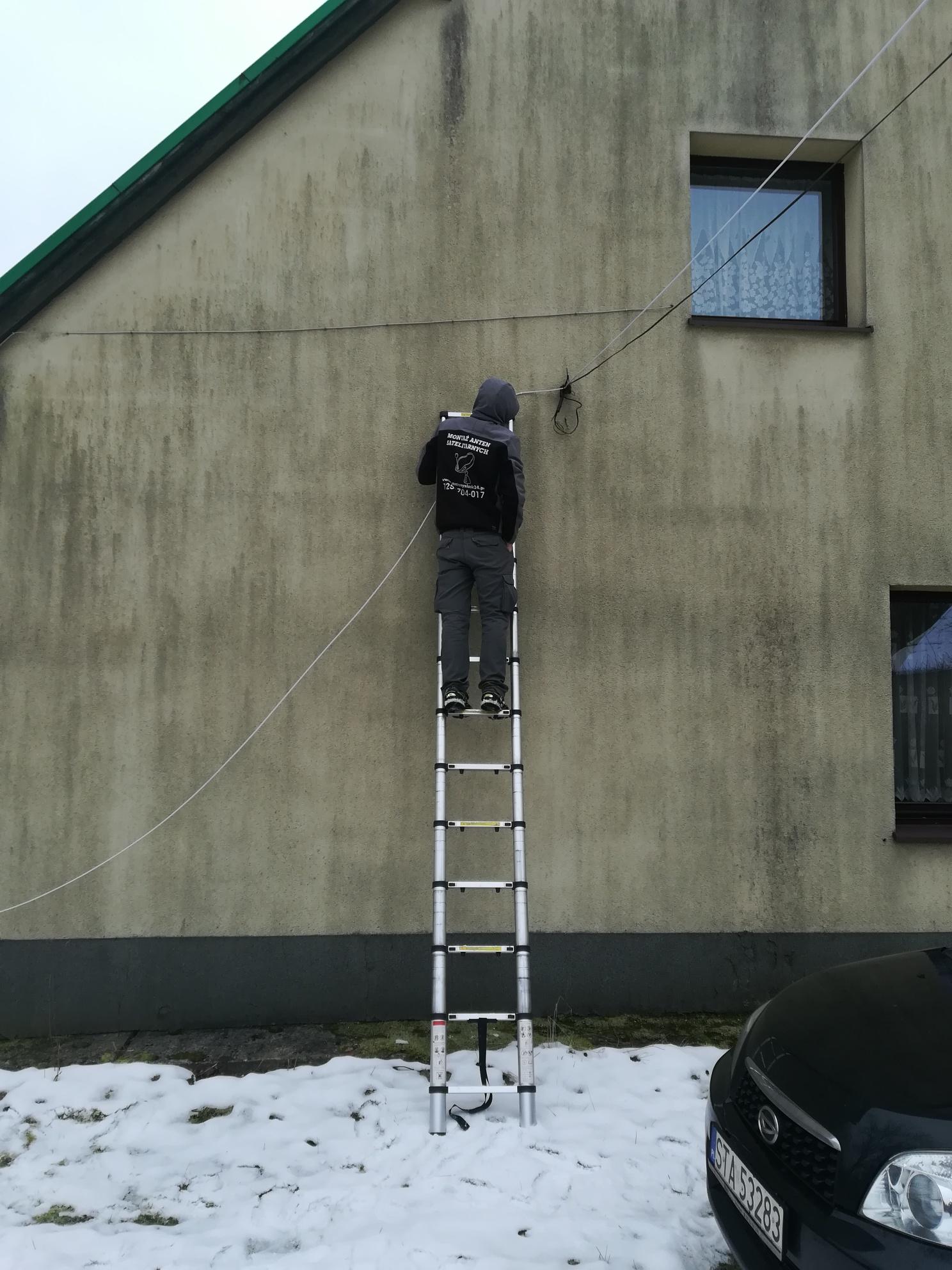 Mocowanie kabla w Tarnowskich Górach