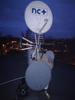 Montaż 2 anten sat w Rudzie Śląskiej
