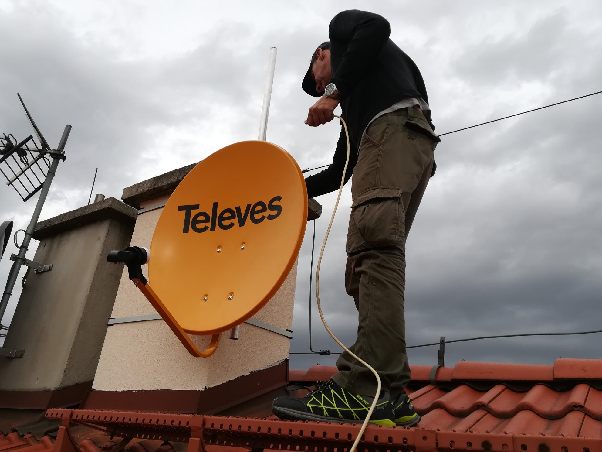Antena satelitarna Sosnowiec
