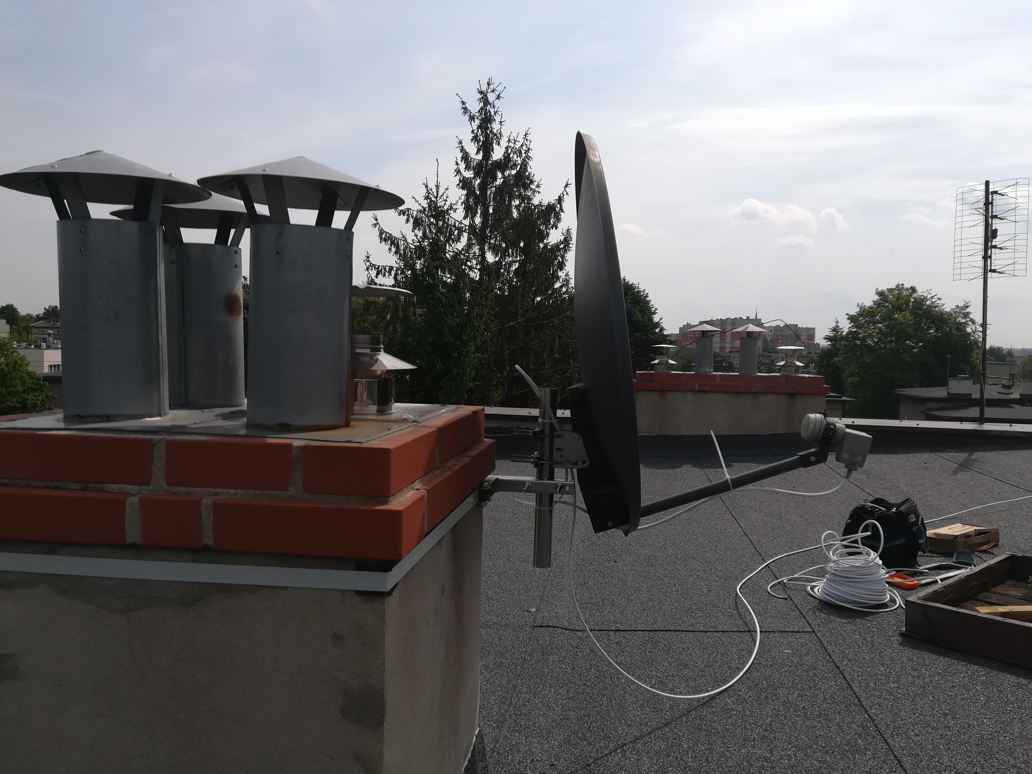 Antena satelitarna Katowice