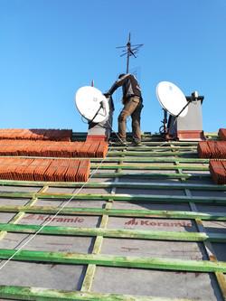 Ustawienie anteny w Gliwicach