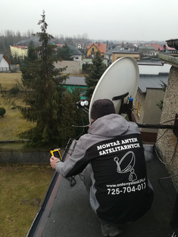 Ustawianie anteny satelitarnej