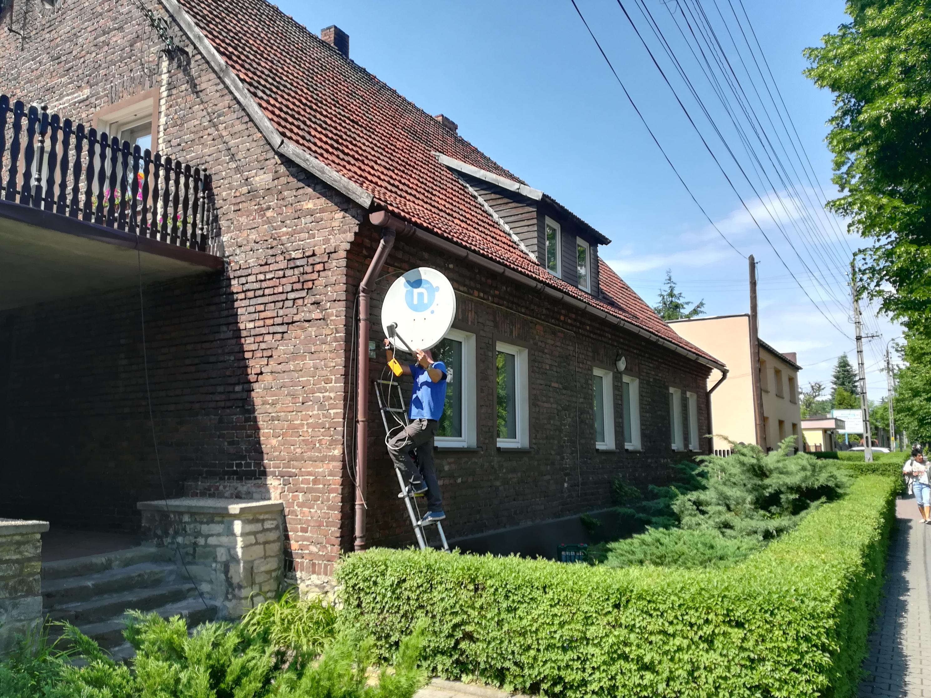 Antena Satelitarna Będzin