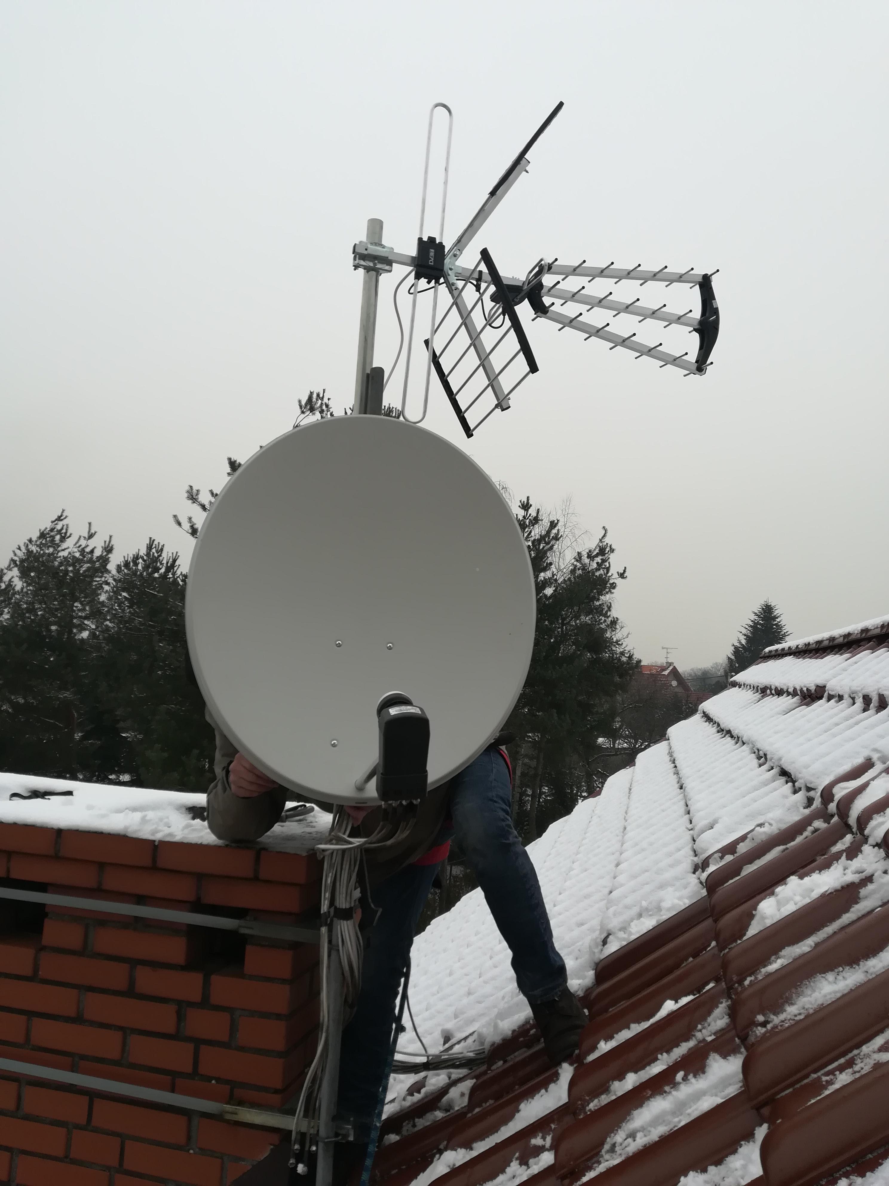 Montaż i ustawienie 2 anten