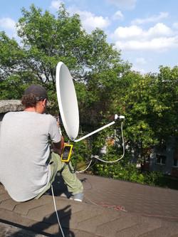 Ustawienie anteny Zabrze