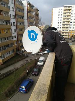 Montaż i Ustawienie anteny satelitar