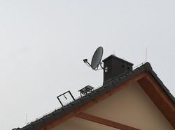 Montaż anteny na dachu na Śląsku