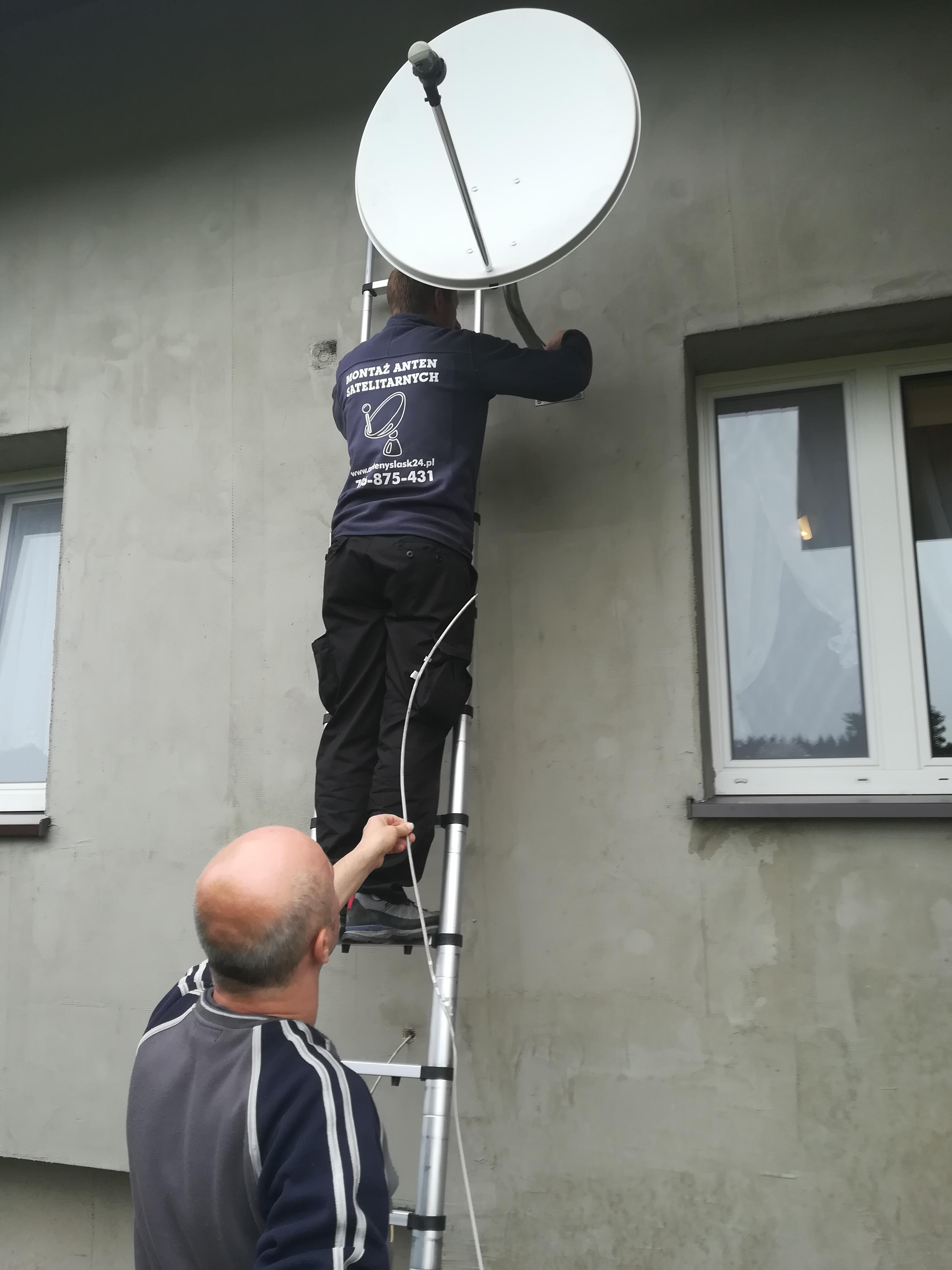Antena satelitarna Mysłowice