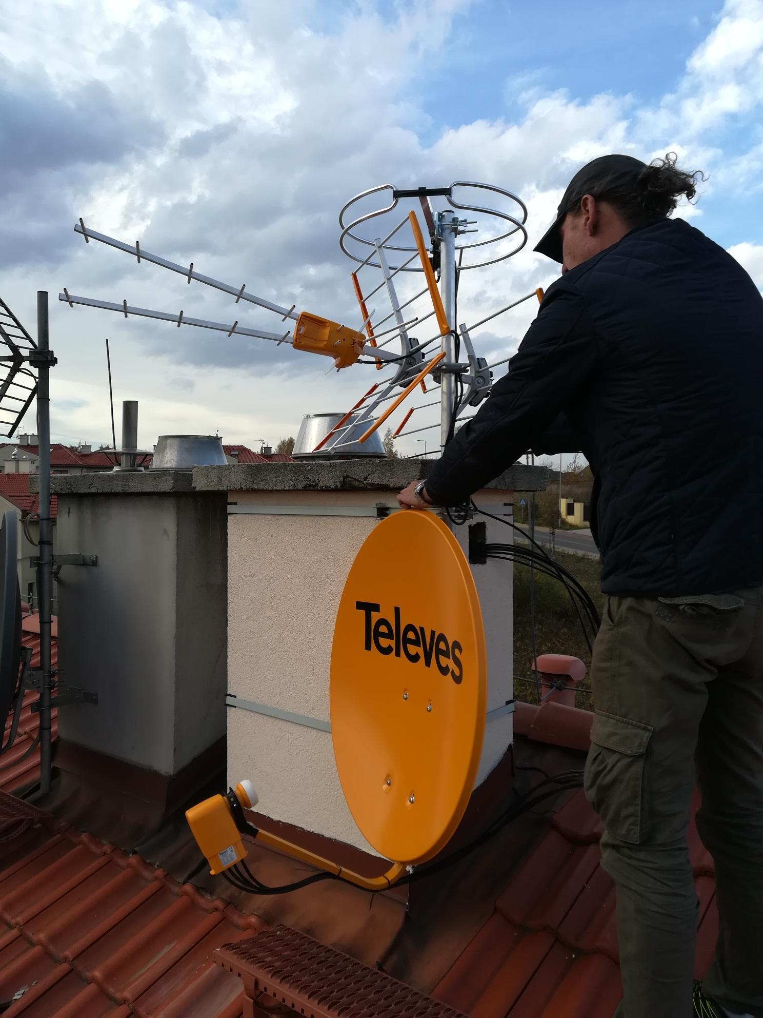 3 anteny w Sosnowcu
