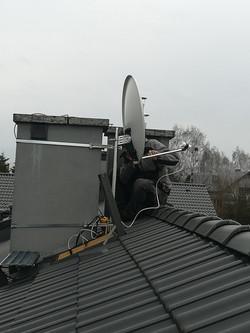 Antena na kominie