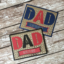 Dad's Workshop Handmade Card by Charmed