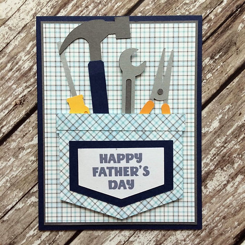 Tool Pocket Father's Day Card