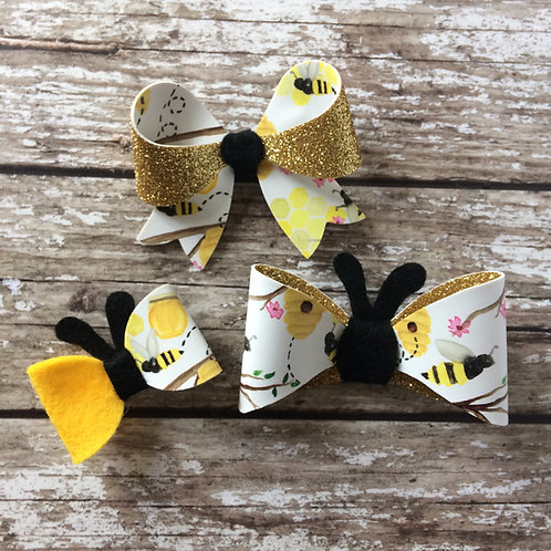 Bumble Bee Bow Collection