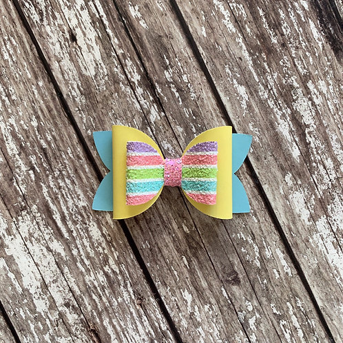 Pastel Double Loop Bow