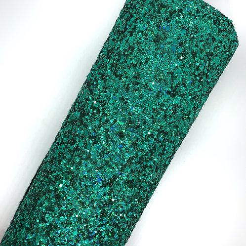 Peacock Green Chunky Glitter
