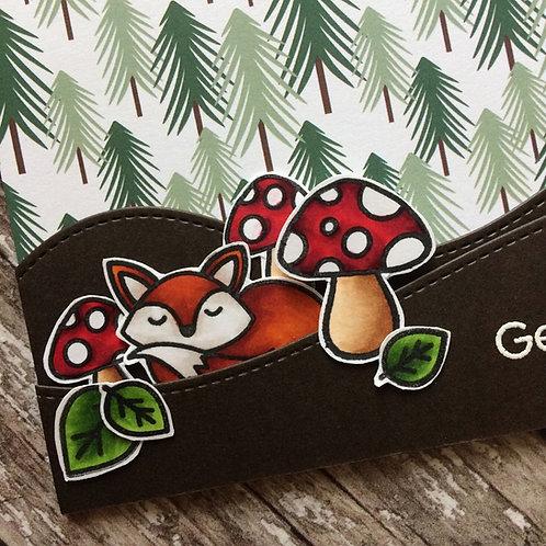 Foxy Get Well Card
