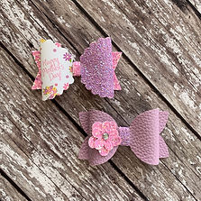 Mother's Day Bouquet Hair Bow by Charmed