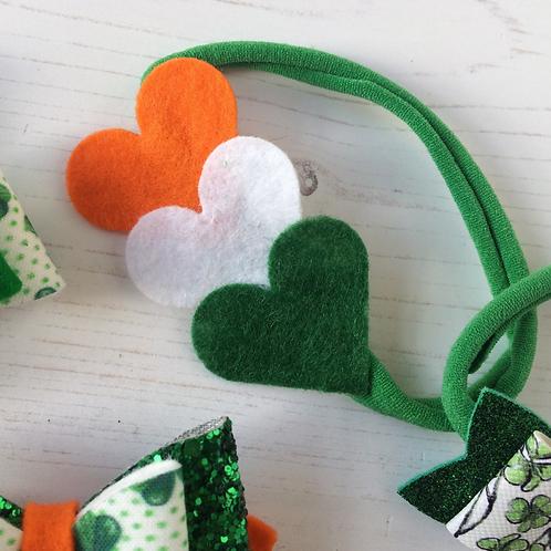 Irish Love Hair Bow