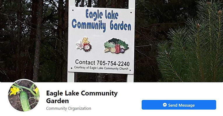 Eagle Lake Community Garden Facebook Page