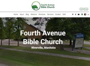 Fourth Avenue Bible Church - pitch