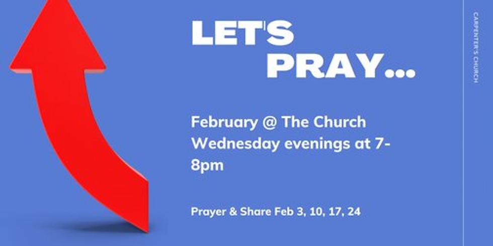 In-Person Prayer & Share