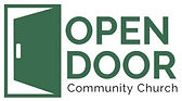 Logo of Open Door Community Church of the Nazarene in Prince Albert Saskatchewan