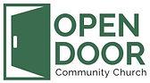 Logo of Open Door Community Church of the Nazarene in Prince Albert Saskatchewan