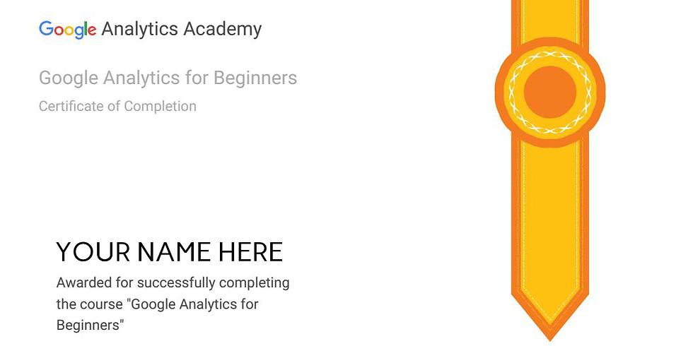 Google Analytics Certification Workshop | Get Google Certified