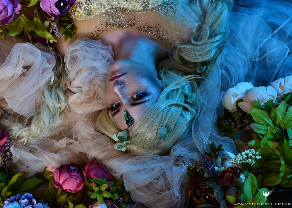 Secret Tale - Romantisches Beautyshooting im Studio