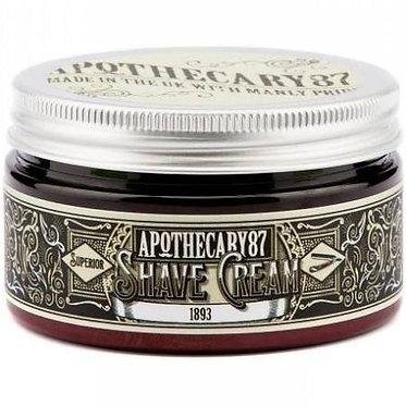 Apothecary87 Shave cream