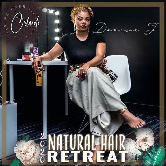 Host Natural Hair Retreat Donique J.