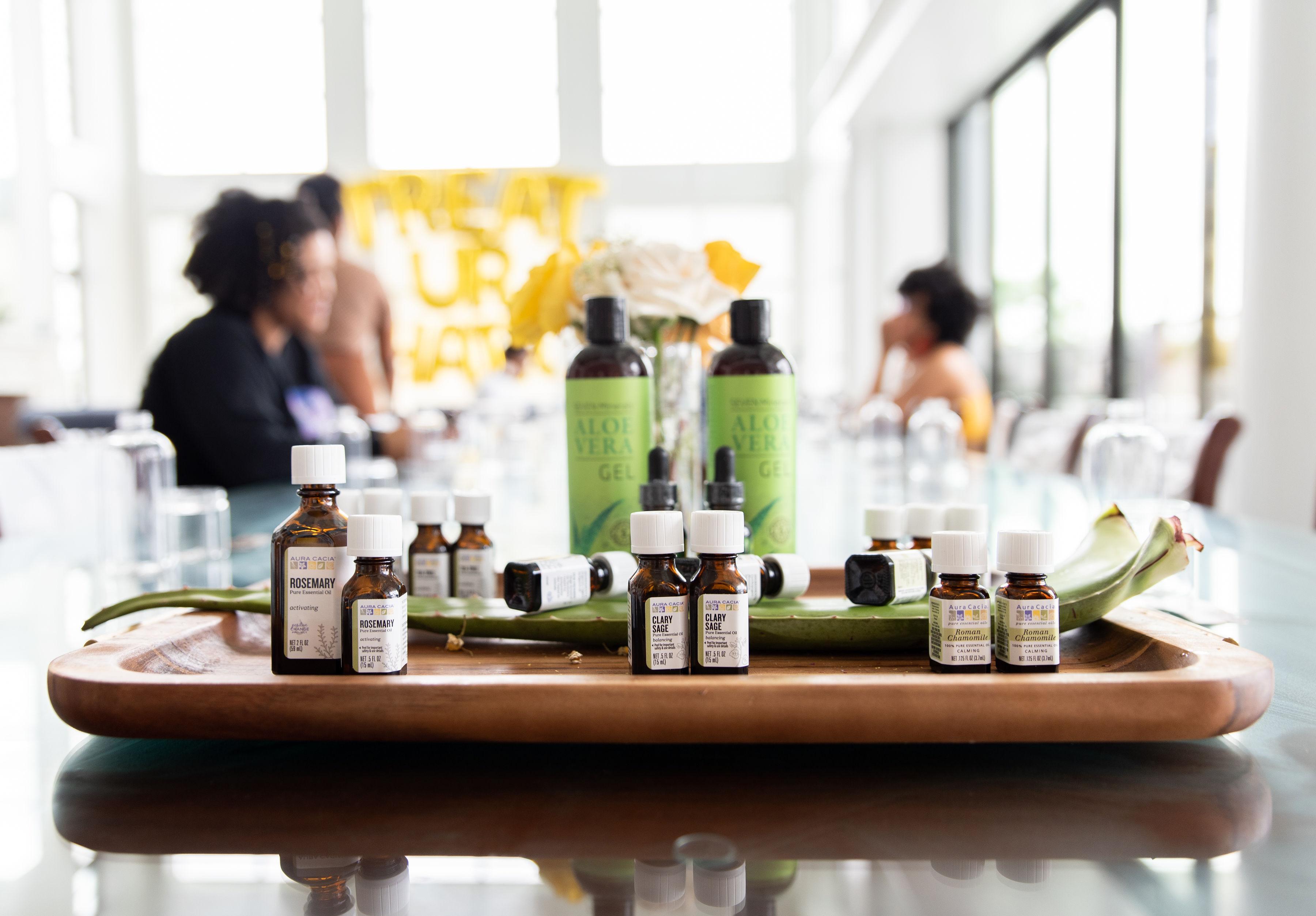 Natural Hair Retreat-Product Formulation