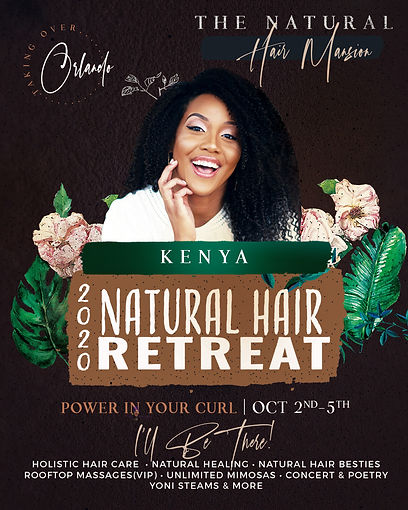 Powerinyourcurl Kenya event flyer