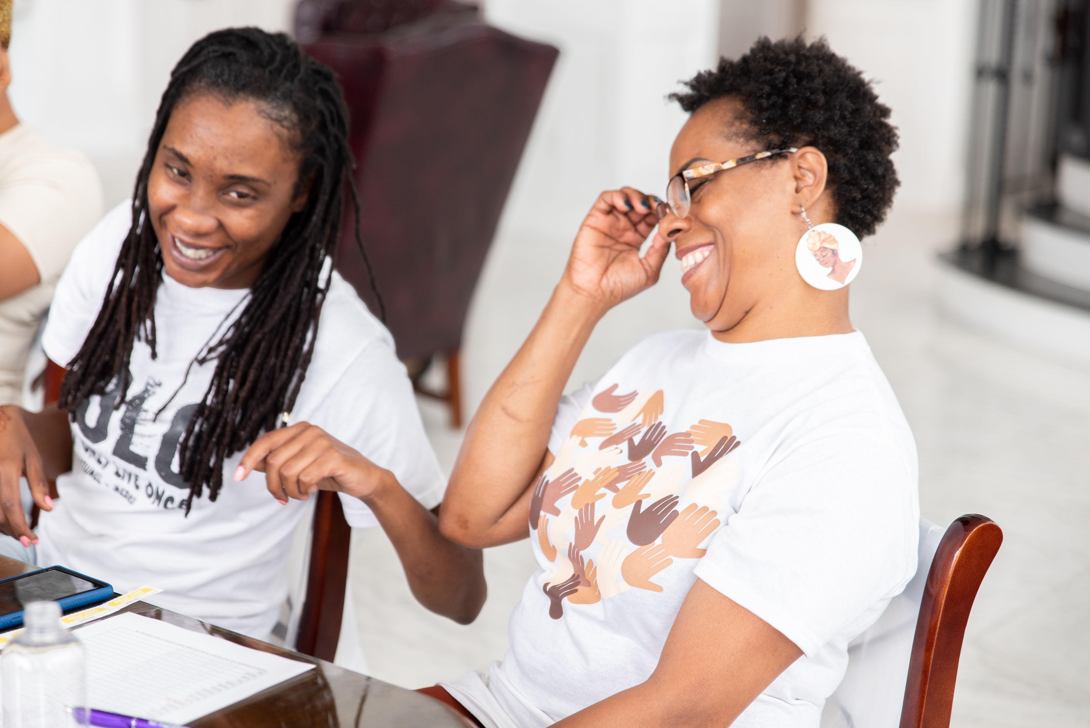 Natural Hair Retreat Attendees