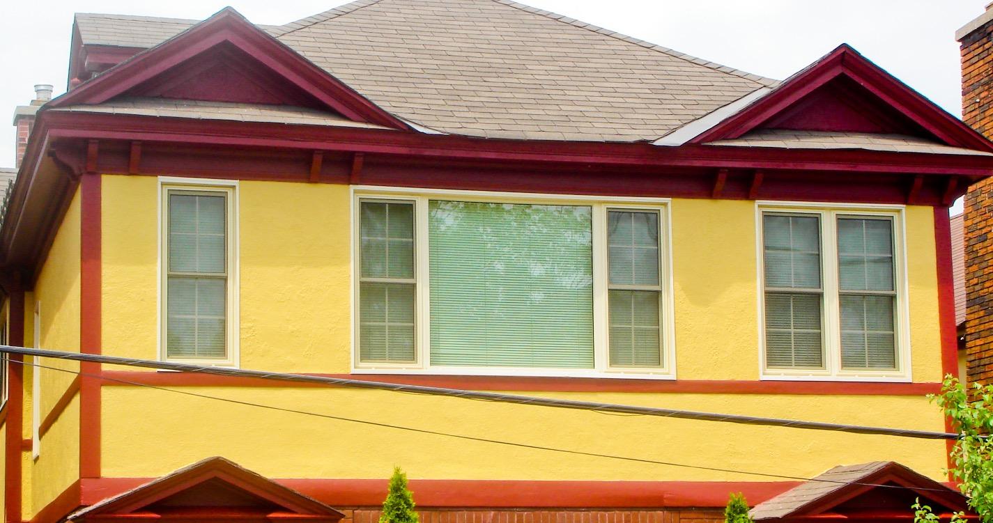Travaux de peinture extérieure