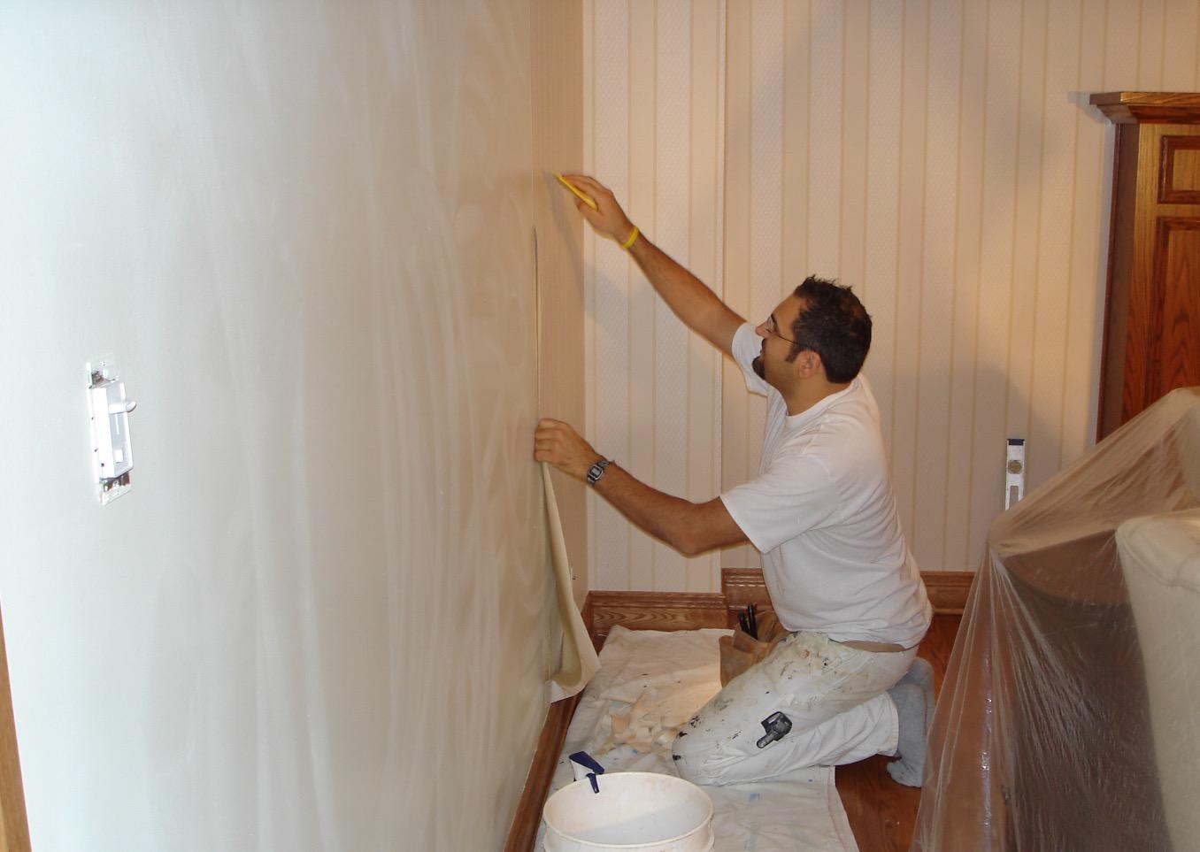 Travaux de peinture résidentielle