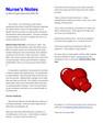 Nurse's Notes Health Heart!