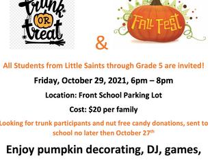 Trunk or Treat Fall Fest