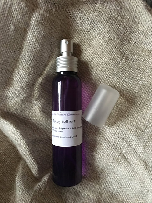 Spray coiffant