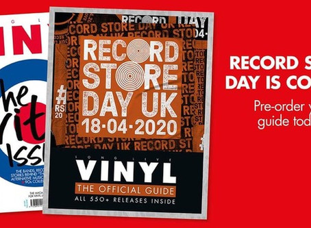 Record Store Day Delay!