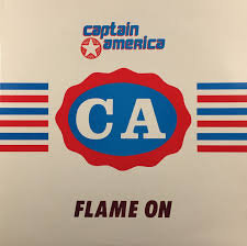 Captain America - Flame On