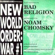 Bad religion - New world order: War#1