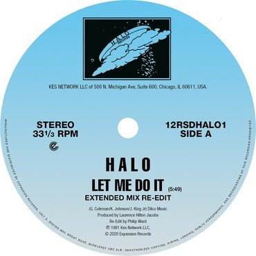 Halo - Let Me Do It
