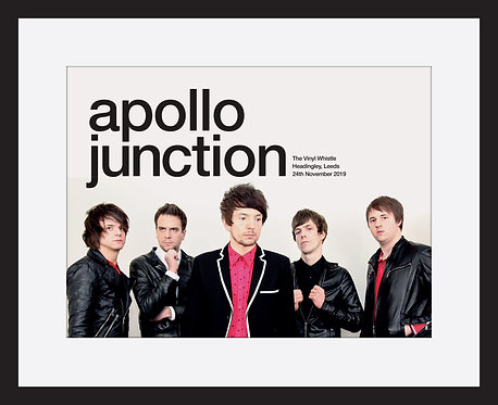 Apollo Junction framed print