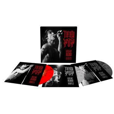 Iggy Pop Box Set - Kiss My Blood Live In Paris